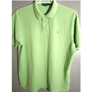 POLO by RALPH LAUREN MEN'S XL POLO STYLE SHIRT